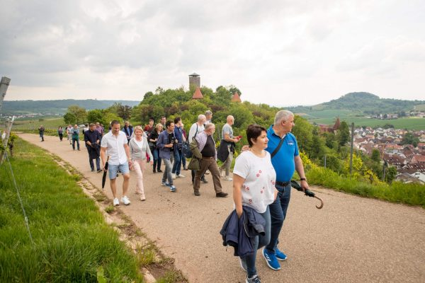 Protec 35 jähriges Jubiläum Weinwanderung 12QC2433